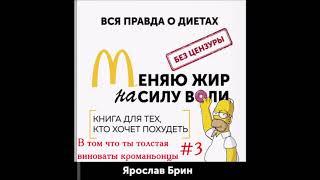 Ярослав Брин. Меняю Жир на Силу Воли. Аудиокнига. #3