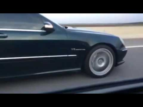 Thumbnail: Mercedes S55 AMG (W220 Stage-2) vs BMW M5 E60 Rolling