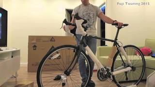 Fuji Touring Bike Unpacking