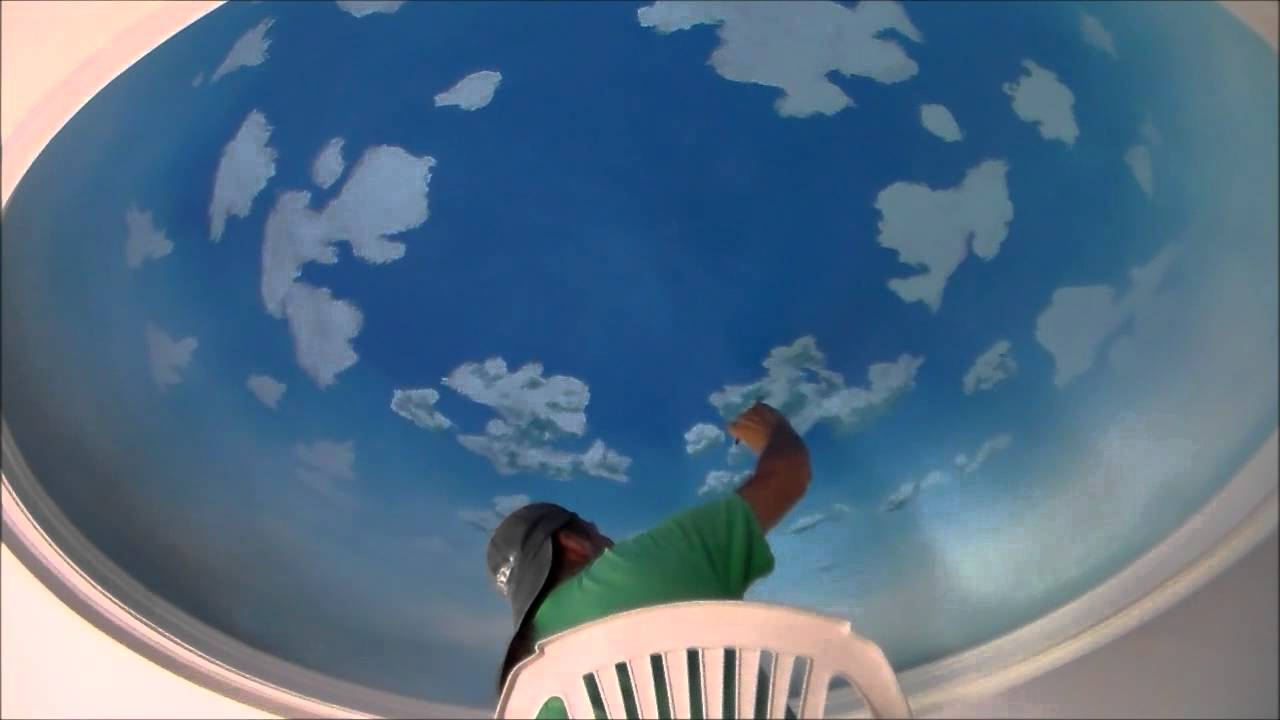 Dome Ceiling---Painting--- part 8 - YouTube