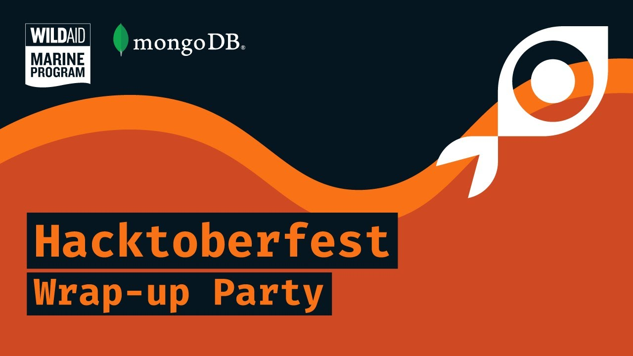 Hacktoberfest 2020 Wrap-up Party for MongoDB