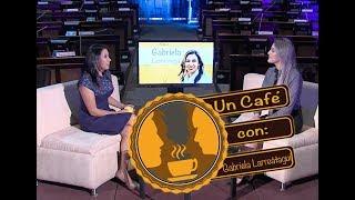 Un Café Con Gabriela Larreátegui