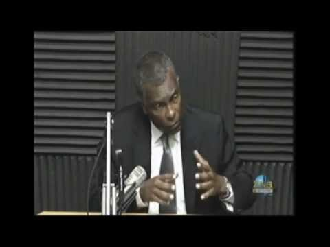 Honourable Fred Mitchell, MP  || Darold Miller Live 1st Appearance (ZNS)