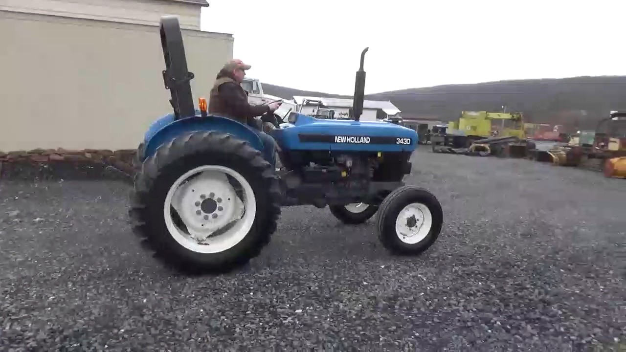 Ford New Holland 3430 Farm Tractor | Ford Farm Tractors: Ford Farm New Holland Wiring Schematic on