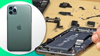 Cracking open an iPhone 11 and 11 Pro