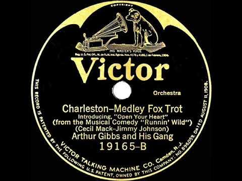 1923 Arthur Gibbs - Charleston (intro: Open Your Heart) (instrumental)