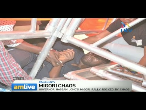Migori chaos: The ugly head of violence rears again in party nominations