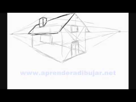 Como dibujar una casa en paint youtube for Dormitorio para dibujar facil