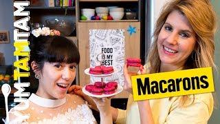 Süße Macarons // Mit Schokoladen-Ganache // #yumtamtam