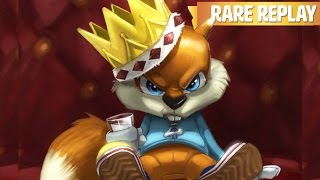 Conker's Bad Fur Day Game Movie (Rare Replay) All Cutscenes HD