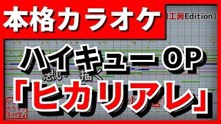 【カラオケ】ハイキューOP「ヒカリアレ」(BURNOUT SYNDROMES)