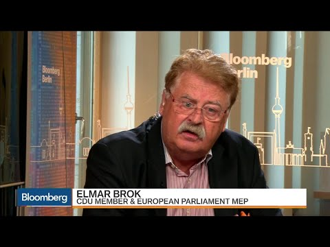 CDU's Brok Says Most Germans Don't Want Grand Coalition