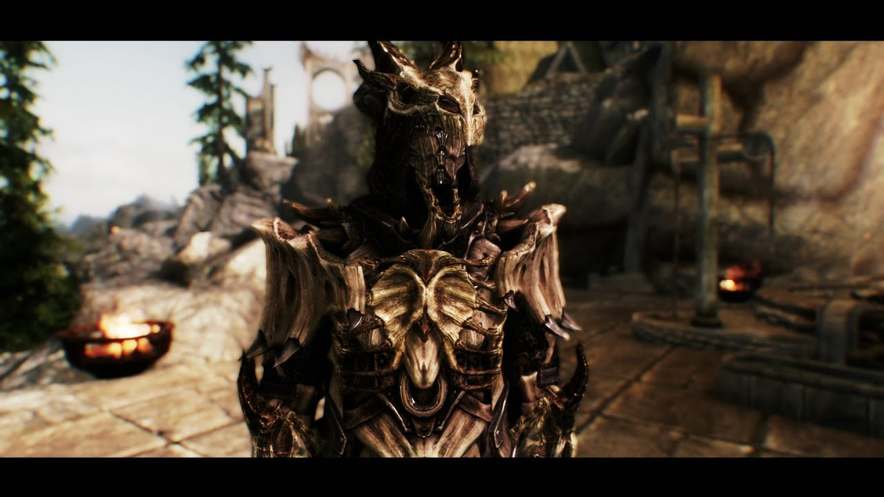 Tes V Skyrim Dragon Bone Mage Armor By Natterforme Youtube There's plenty of skyrim armor variants to be found and made in the game, and this is how you get the very best. tes v skyrim dragon bone mage armor by natterforme