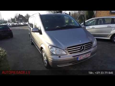 Mercedes Benz Viano 3.0 CDI Lang 7 vietas , 2009. gads, no A.G. Automobile GmbH