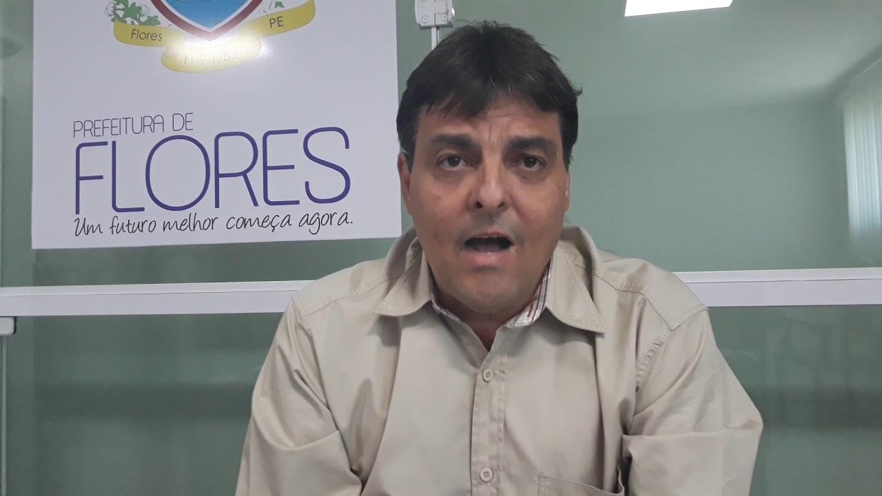 ENTREVISTA COM O PREFEITO DE FLORES MARCONI SANTANA. - YouTube