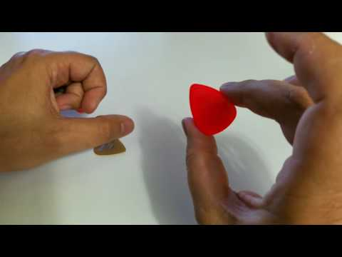 Make A Pick That Mimics A 12 String Guitar Sound or A Doubled Guitar Effect
