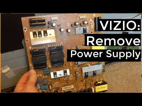 Vizio D650i B2 Tv Repair Kit How To Replace The T Con