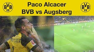 Paco Alcacer 4:3 Free kick BVB vs Augsburg