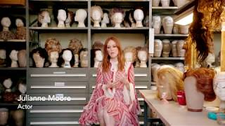 Julianne Moore on the Met