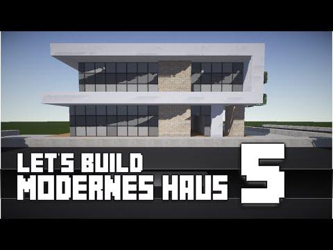 Minecraft Modernes Haus Bauen X Tutorial Anleitung Hd - Minecraft cooles haus bauen anleitung