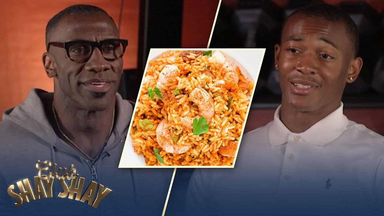 Shannon Sharpe jokes with DeVonta about his Lousiana cooking skills | EPISODE 29 | CLUB SHAY SHAY