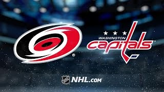 Holtby, Capitals blank Hurricanes, 5-0