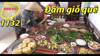 Đi đám giỗ nhà bà Tư -  Đám giỗ miền tây - Nam Việt 1132