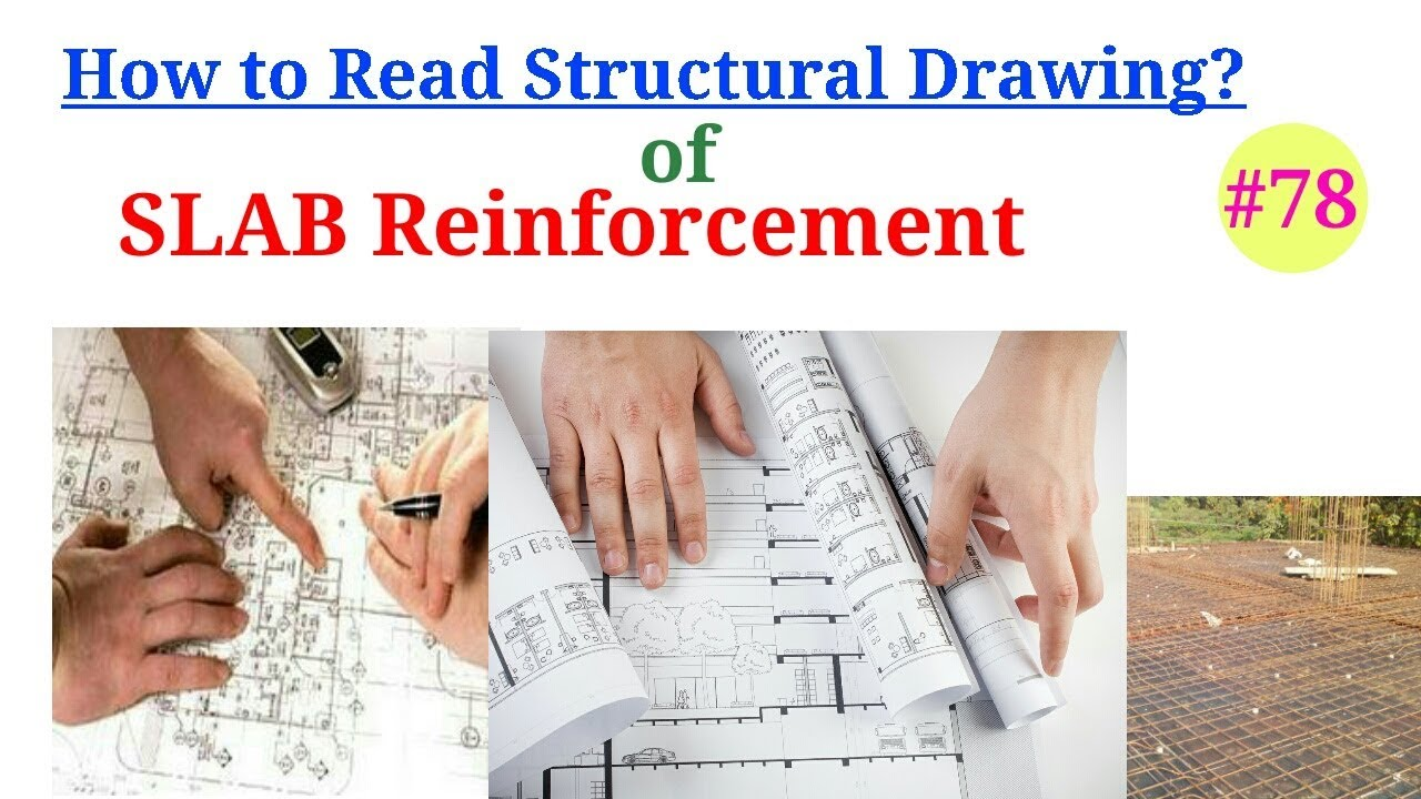 Slab Reinforcement in Details || Drawing study of Slab || How to provide  steel bar in Slab