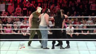 THE WYATT FAMILY VS THE SHIELD FULL FIGHT
