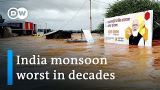 Download India floods and mudslides kill more than 100, many missing or trapped   DW News