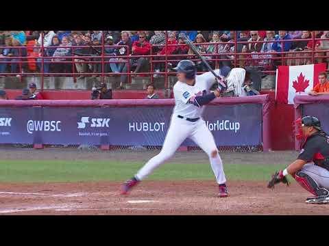 Highlights: Canada v USA – Super Round – WBSC U-18 Baseball World Cup 2017