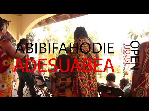 Open House: Abibifahodie Adesuabea at The Lion House Afrikan Cultural Center