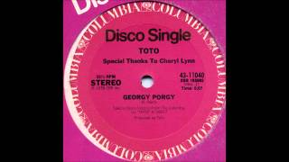 TOTO Featuring CHERYL LYNN - Georgy Porgy [HQ]