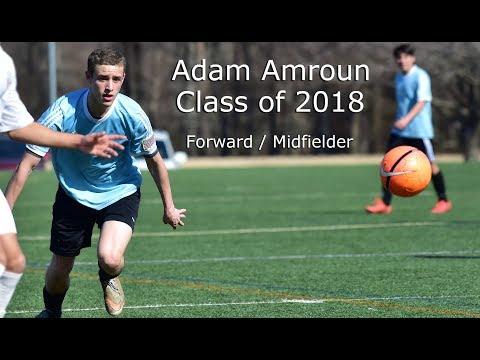 Adam Amroun  Class of 2018  College Soccer Recruiting Highlights