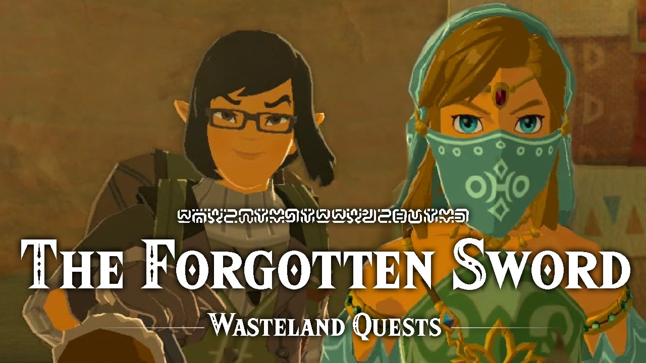 Elegant The Forgotten Sword   Wasteland Quests   The Legend Of Zelda: Breath Of The  Wild