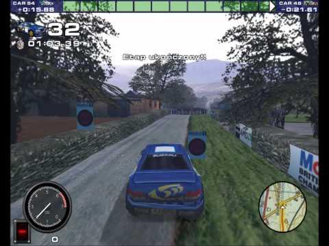Rally Championship 2000 PL   Gra zręcznościowa 2 (część 1)