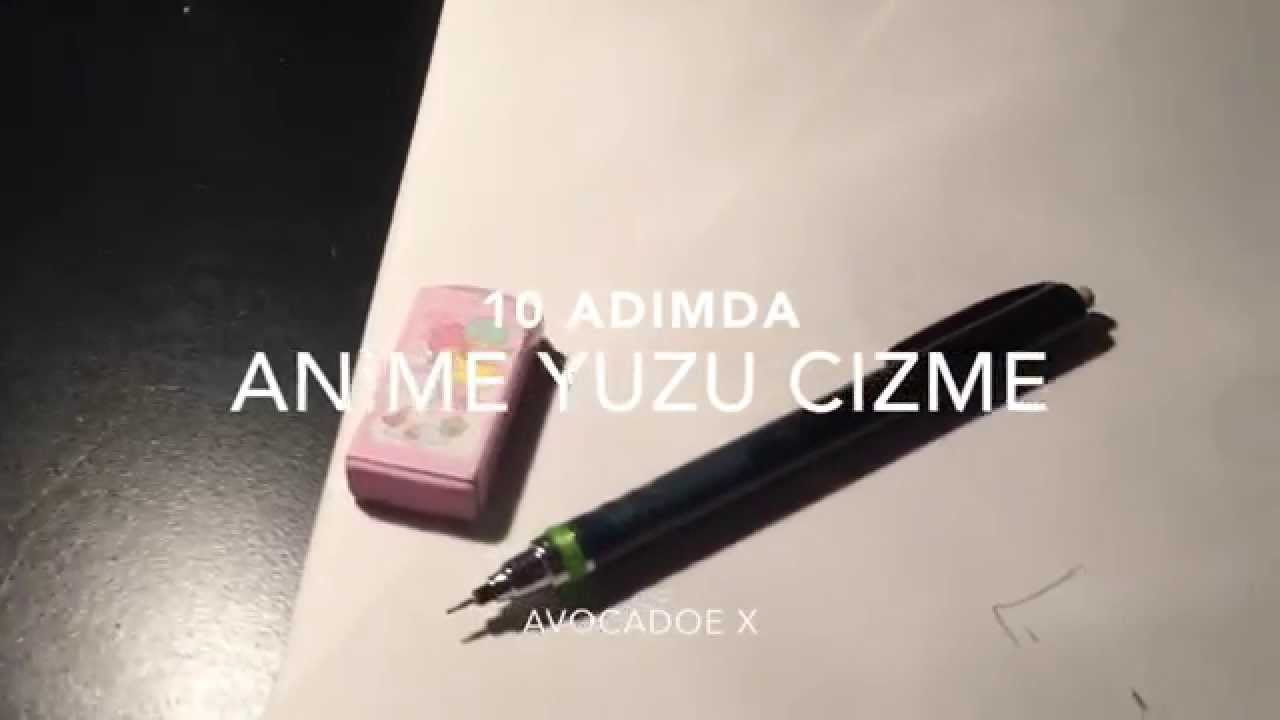 10 Adimda Basit Anime Cizimi