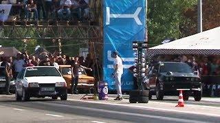 Турбо-восьмёрка против 1000-сильного BMW E30