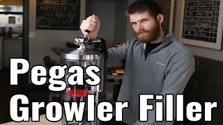 The Perfect Growler Filler | Counter Pressure Bottle w/ Pegas Craftap 3 for Breweries/Bars