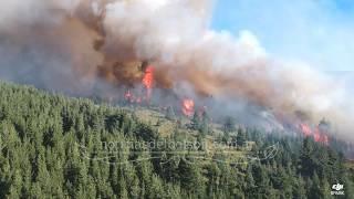 Incendio en Epuyen, mas de 70 hectáreas consumidas por el fuego