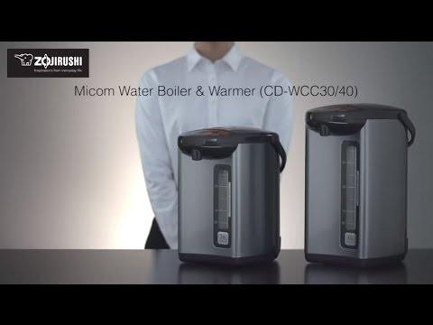 Zojirushi Micom Water Boiler & Warmer CD-WCC30/40