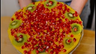 Сыроедческий Торт с Манго