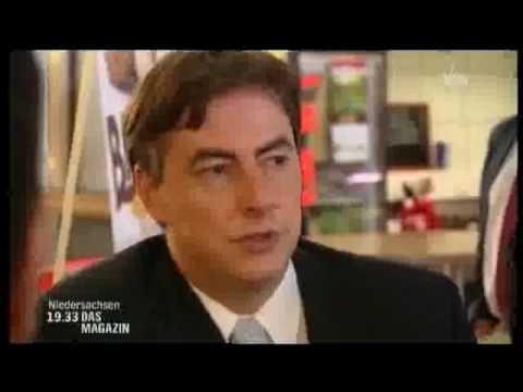 David McAllister - ein Arbeitstag mit Interviews und Entscheidungen