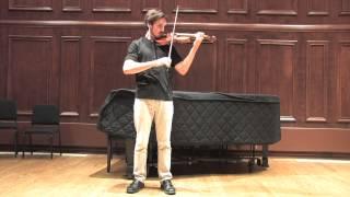 Bach Partita No 1 in B Minor: Double Presto