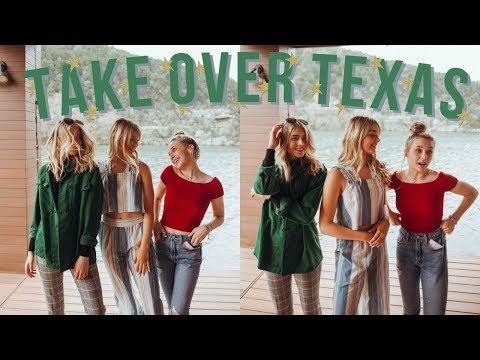 AVREY & YOUTUBE FRIENDS TAKE OVER TEXAS!