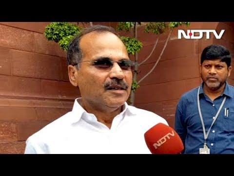 After Rahul Gandhi's No, Congress Names Adhir Chowdhury Lok Sabha Chief