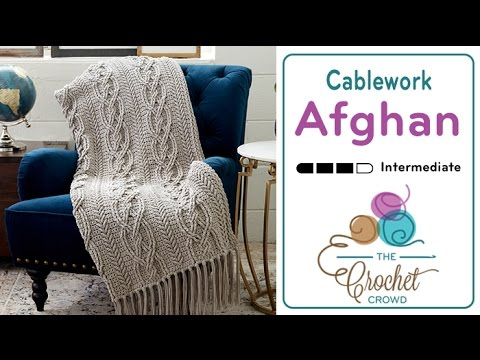 Crochet Cable Afghan