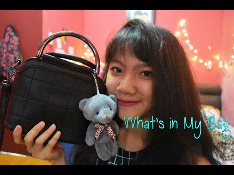 what's in my bag? (Indonesia) tas kecil-kecil cabe rawit