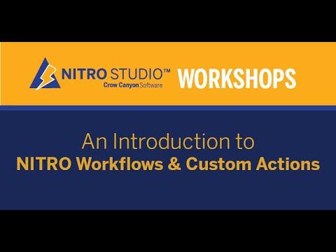 NITRO Workflows and
