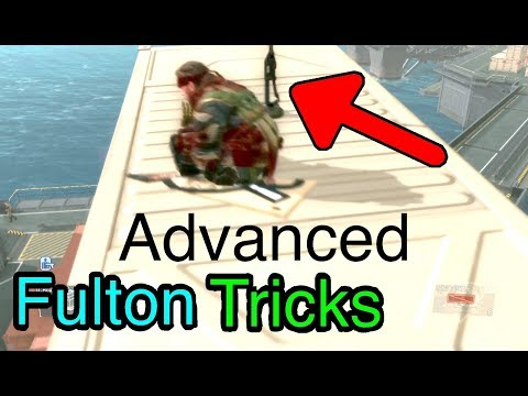 MGSV: Phantom Pain - Pro Fulton Tips (Metal Gear Solid 5)